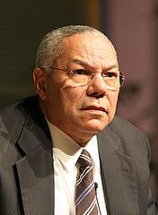 Una fotografía de Colin Powell